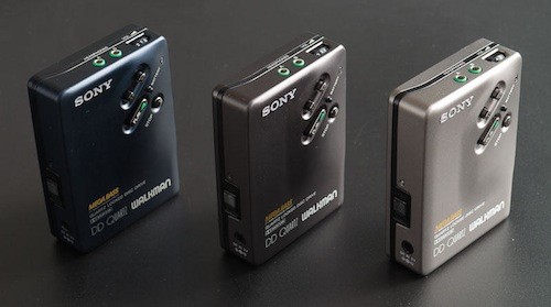 Sony WM-DD33 walkman